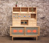 Folk and to Some Extent Rustic Furniture Was Presented by Brooklyn-Based Company VOLK