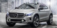 Official Images of The Mercedes-Benz Gla Concept Have Surfaced Ahead of Its Unveiling