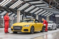Audi Has Commenced The Production of Its Flagship Audi Tt Roadster