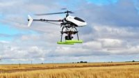 The AutoCopter Is a UAV Helicopter Providing Remote Sensing of Crops