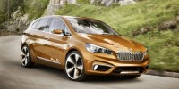 The BMW Concept Active Tourer Outdoor Has Been Revealed Ahead of Its Official Unveiling