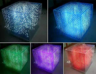 Transformers Contains 4,096 LEDs Organized Into a 2 Inch Wide Grid