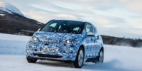 The Snow Is Carved up by BMW I3 Prototype