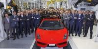 Lamborghini Gallardo Has Rolled off The Production Line
