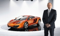 Mclaren Executive Chairman Ron Dennis