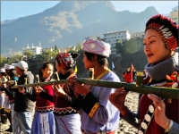 The Lisu People Are Celebrating Their Most Important Festival-The Kuoshi Festival