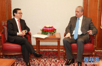 Chinese Minister of Commerce Gao Hucheng Visits Algeria