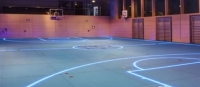 LED Strip to Replace The Traditional Crossed Stadium Wooden Floor