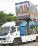 The Mobile Electronic Board Provides on-The-Spot Engagement and Interaction for Brands