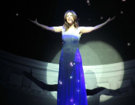 Laura Pausini Entered Her Verona July 4th Performance in a Brighter Than Average Dress
