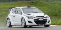 The Hyundai I20 Wrc Car Has Completed Its First Comprehensive Testing Session in Europe