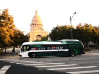 Electric Bus Is Equipped with Extended Range Battery System