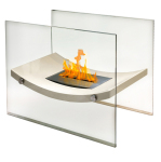 Anywhere Fireplace's Broadway Indoor Fireplace Is The Perfect Size to Add to Large Tables