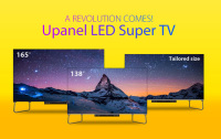 Unilumin Launched Brand New Upanel Series LED Super Large Stand Alone TV