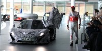 Mclaren P1 Supercar Has Made a Brief Appearance at The English Brand's Launch Event