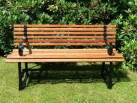A Bench Is a Piece of Furniture, on Which Several People May Sit at The Same Time.