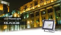 FZLED Announces The Energy-Saving Flood Light,35W, Coded FZL-FL35-00