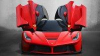 Ferrari Has Unveiled New Laferrari Hybrid Sports Car at The Ongoing Geneva International
