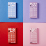 Doisy & Dam Aunched Five Handcrafted Varieties of Organic Dark Chocolate Nationwide