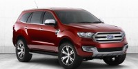 The Ford Everest Concept Is Unveiled and Seven-Seater SUV Go on Sale in 2015