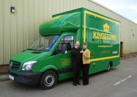 Kingston Furniture Sets off a New Show Van on Its Long Expedition Across The UK