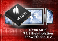 Peregrine Semiconductor Has Introduced the UltraCMOS PE42721 75Ω RF