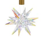LBL Lighting's Izzy Pendant Light Uses Sculpted Star-Like Swarovski Crystal Module