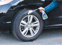 Alloy Wheels'open-Spoke Design and Contoured Surfaces Make Them a Magnet for Dust,Grime