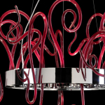 De Rossi Danlo's Design for Leucos Lighting Brings an Abstract Medusa to Life with Light