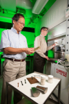 USDA Scientists and University Cooperators Have Developed a Biodegradable Plastic