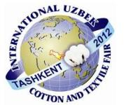 Uzbek Cotton and Textile Fair Began on October 17, 2012 at Uzexpocentre in Tashkent
