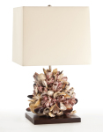 Kourtney Table Lamp Uses The Ocean's Coral Reef Influence to Create an Underwater Fantasy