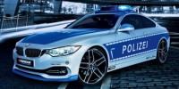 a 'police-Spec' BMW 428I Coupe Has Been Showed at The Essen Motor Show in Germany