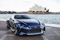 Lexus Has Unveiled The Lf-LC Blue Hybrid Concept Car