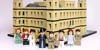 Downton Abbey Fan Eric Stevens Has Recreated His Favourite Show out of LEGO
