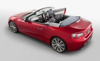 Toyota 86 Convertible unveiled an updated FT86 Open concept