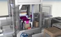 TekPak Announced New High-Speed Case Packer