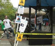 World's Most Dangerous LED Display Caught at Maker Faire
