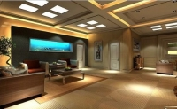 LED Panel Light Can Be Used for Decoration in Spaces Like Living Rooms