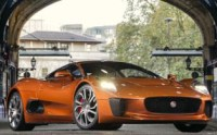 Jaguar C-X75 Supercar in London