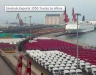 Sinotruk Received an Order for 1550 Trucks From Africa in May