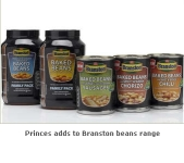 Princes Increases Its Appeal to Adult Consumers with The Launch of a Number of Bean Meals