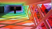 MIA Has Put Added a Rainbow of Light & Sound to One of Their Average Walkthrough Corridors