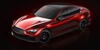 Infiniti Q50 Eau Rouge Concept Has Been Released Ahead of Its World Premiere