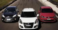 Ford Fiesta Metal V Suzuki Swift Sport and Volkswagen Polo GTI Are Hot Hatchbacks