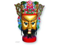 Xiangdong Nuo Mask Is a Kind of Mask Made of Camphorwood with Original Religious Flavor