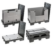 DS Smith's Plastics Division Added a New Fold-Flat Plastics Container