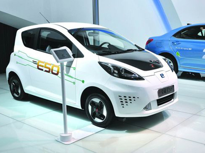 China Plans Special License Plate for New-Energy Vehicles