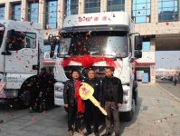 SINOTRUK STR B7d Tractor Delivery Ceremony and New Tasting Held in Anhui Lixin