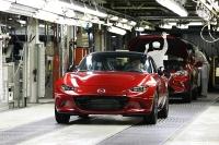 Mazda Starts Producing 2016 Mazda MX-5 Miata in US